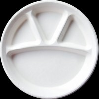 3CP ROUND PLATE (BAGASSE)
