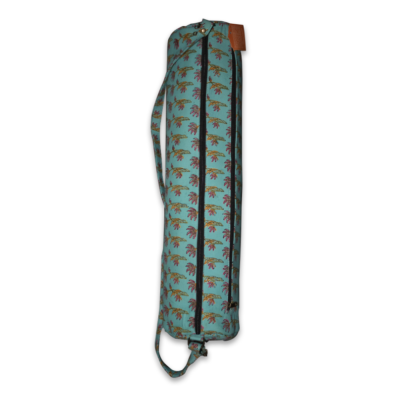 Handcrafted Yoga Mat Bag (Turquoise)