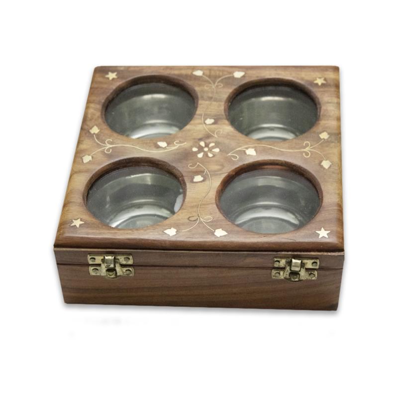 Wooden Dry Fruit Box