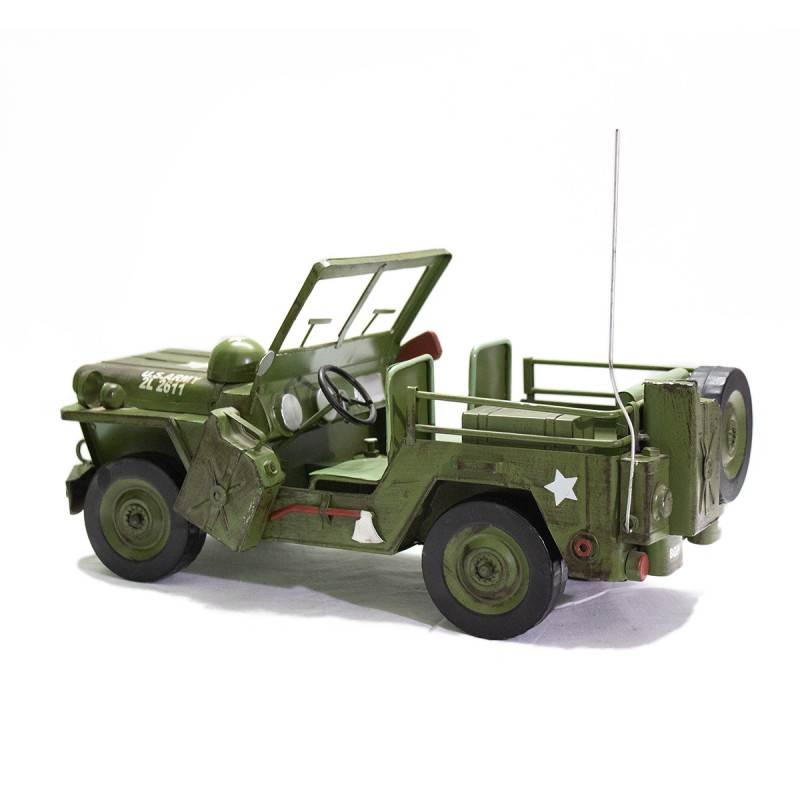 Army Jeep Iron Model