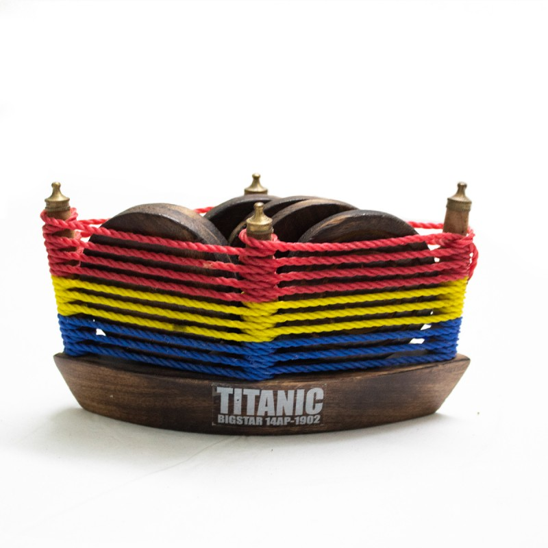 Titanic Wooden Coaster