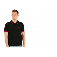 IB FLING POLO T-SHIRT BLACK