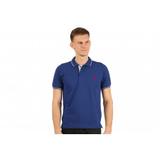 IB FLING POLO T-SHIRT ROYAL BLUE
