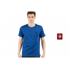 IB ROUND NECK T-SHIRT ROYAL BLUE