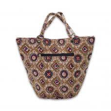 Hand Block Printed Cotton Handbag