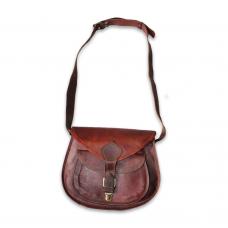 Single Pocket Leather Side Bag