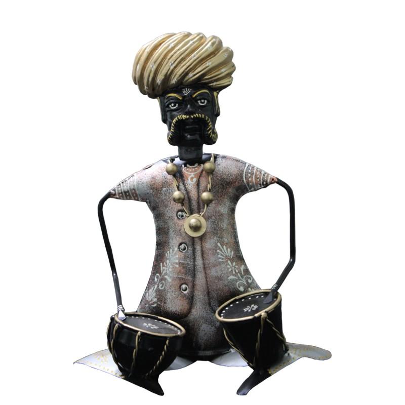 Indian Musicians figurines (set of 3) big