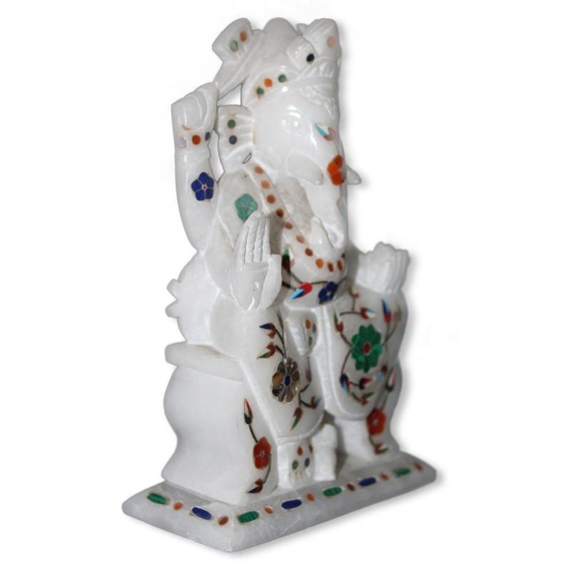 Marble Inlay Ganesha