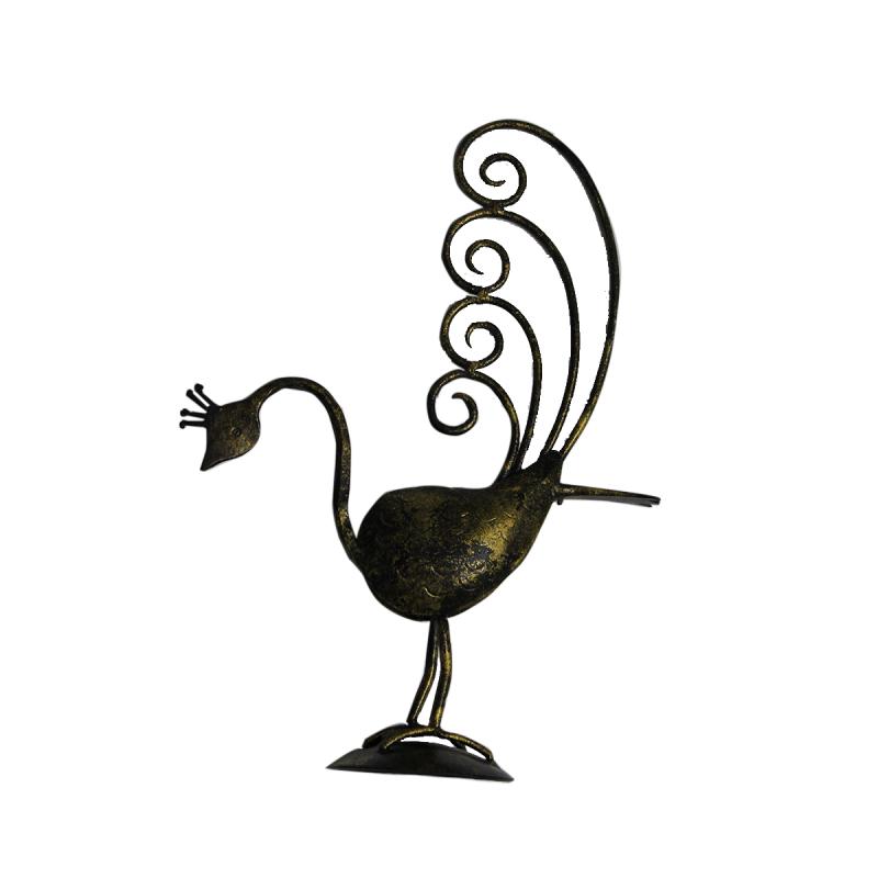 Iron Peacocks (Set Of 2)