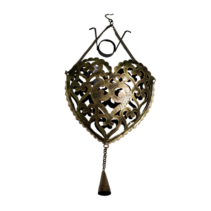 Heart-shaped Wall-candle Holder